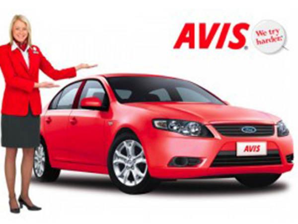 Avis Car Rental coupe
