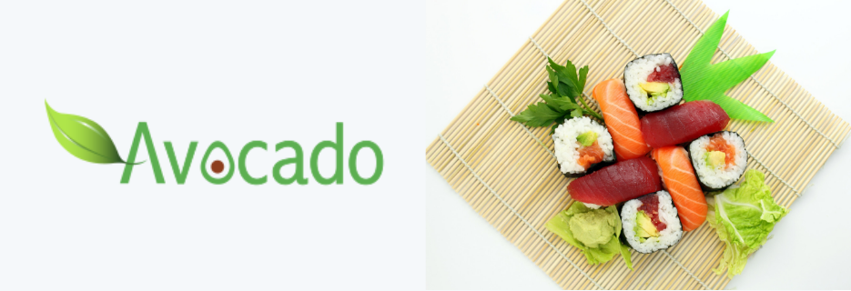 Avocado, restaurant, dining, atmosphere, sushi, sushi bar, food, casual, Asian, Asian fusion, drinks