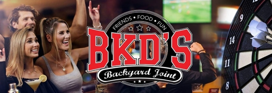 BKD's backyard joint quality sports entertainment and bar games