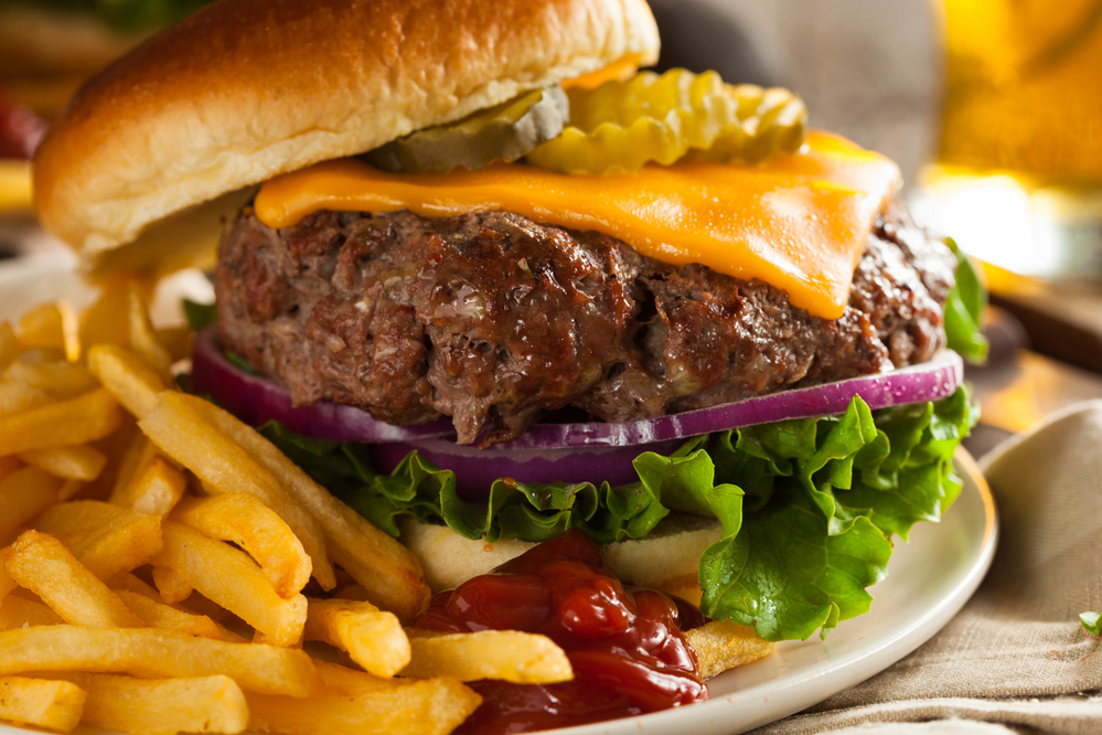 Tender and juicy burgers at  Babbo's in Elizabethtown, PA