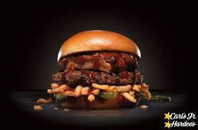 Hardee's Baby back Rib Thick burger