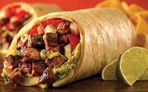 baja fresh burrito