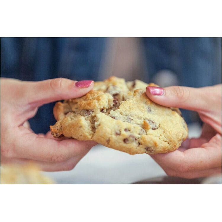 Warm, delicious BAKED cookie. We deliver anywhere in Rexburg