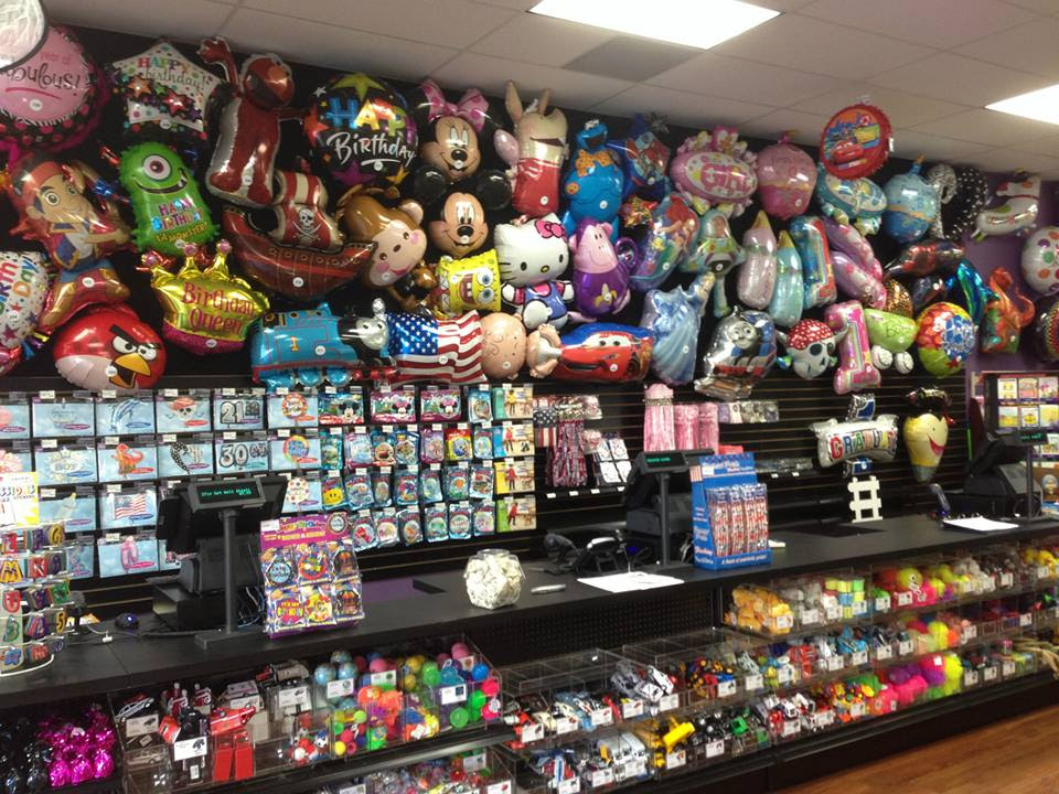 party, supplies, hobbies, crafting, art supplies, sewing, ribbons, notions, helium balloons; Bethesda, MD