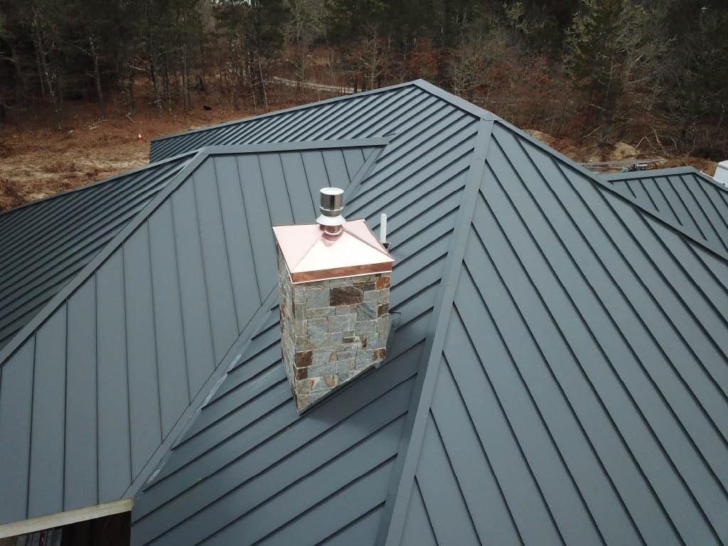 Metal roofing is getting more popular. Baltic installs metal roofing on Cape Cod, The Islands & surrounding areas