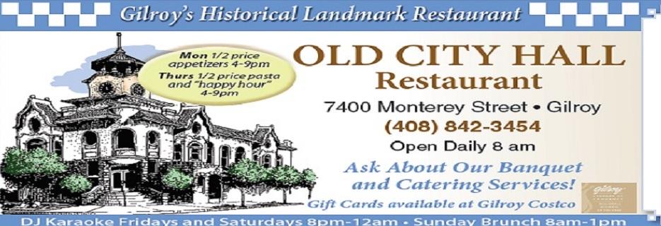 Old City Hall Restaurant banner art