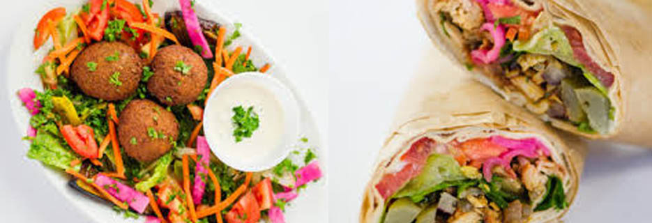 tabooli wraps pita mediterranean fresh fast bowls wraps soups salads