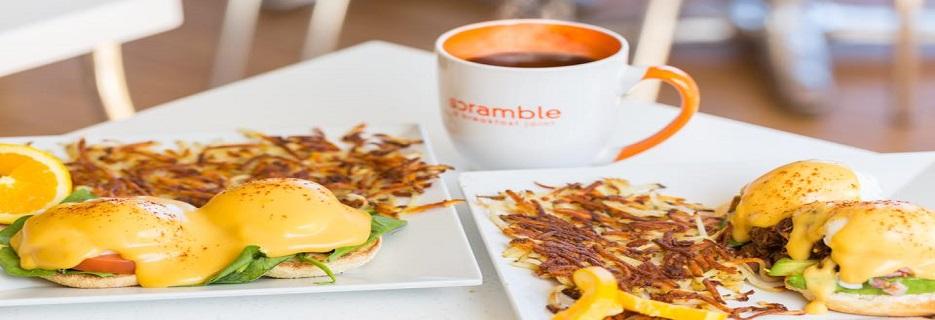 healthy egg breakfast restaurant near tempe arizona Scramble best brunch place in tempe