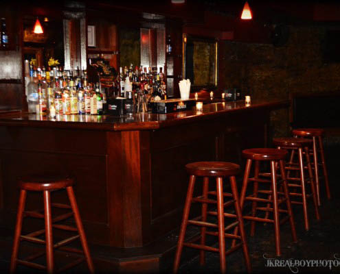 Downstairs bar at Westside Tavern - Host your next family event here