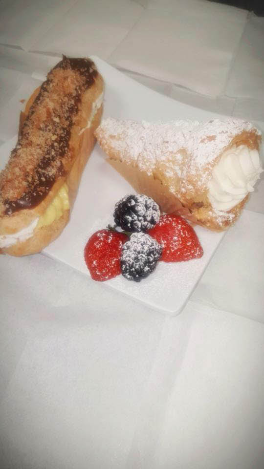 Decadent desserts from Barbar Mediterranean Grill near Spring TX