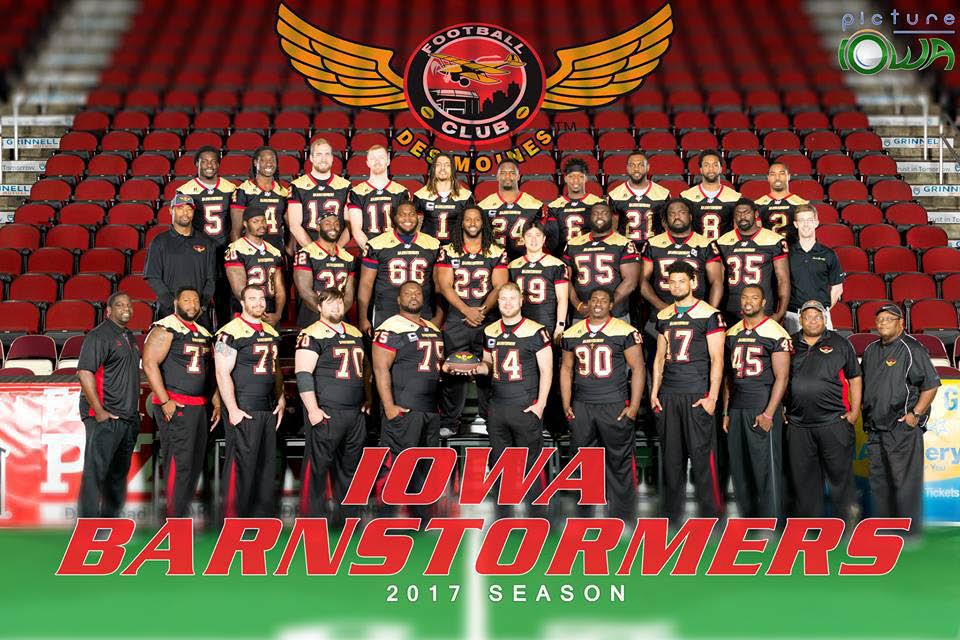 Iowa Barnstormers, arena football near West Des Moines, IA