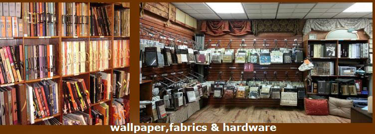 Thousands of brand name fabric & wallpaper samples in textures, colors, prints and solids