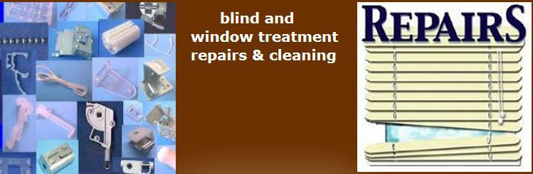 See Barron for window & blind cleaning or repair