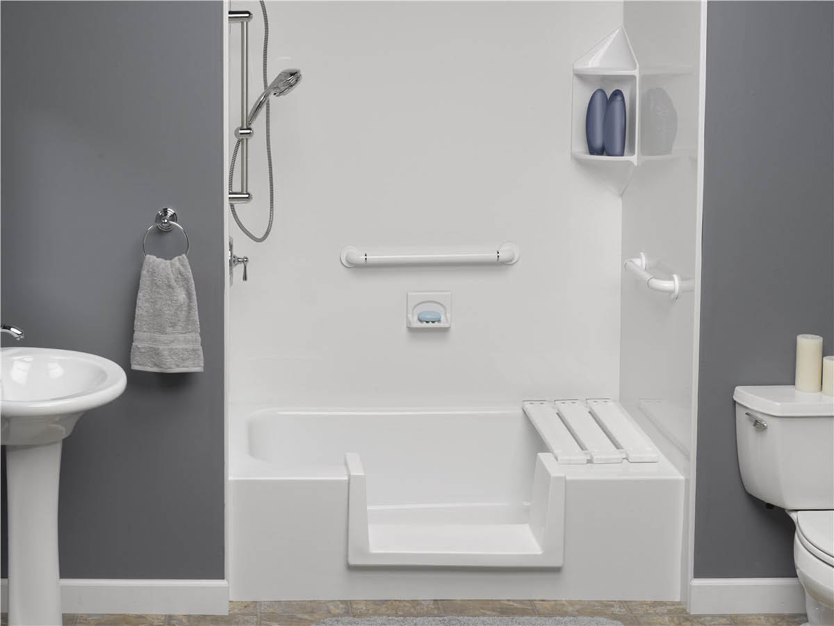 accessible tub bath tub conversion