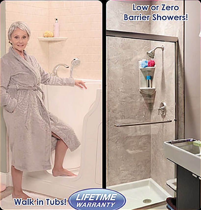 walk in tub no barrier shower accessible shower accessible tub