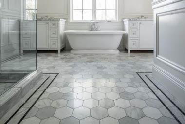 Bathroom Tile Installation by Burrini's Floor Installation & Restoration in Morris County, NJ
