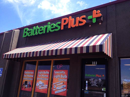 Batteries Plus Bulbs storefront in Prescott Valley, AZ