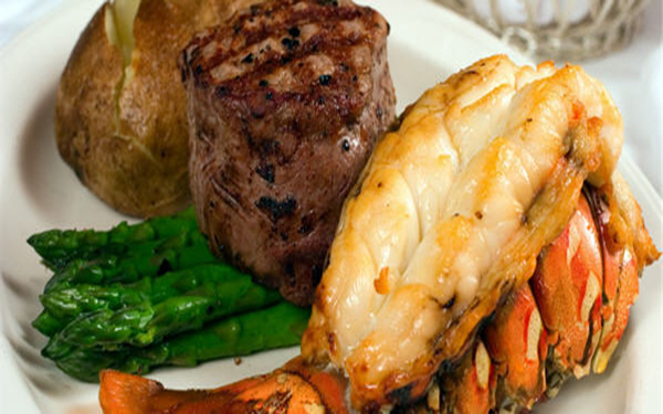 surf and turf meals from Bay Breeze in Mableton GA