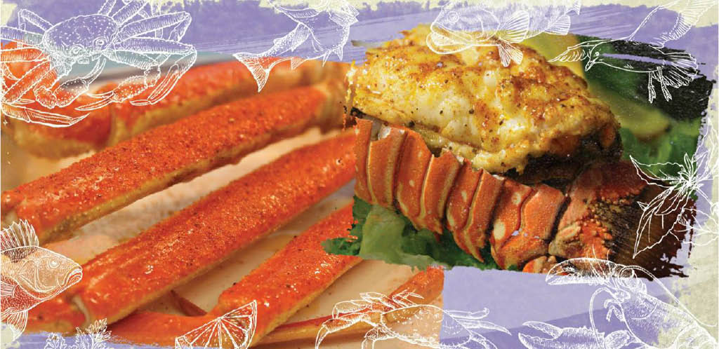crab legs; crab meals; seafood; dining in Lilburn