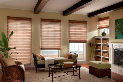 roman shades bay screens & shades santa monica, ca