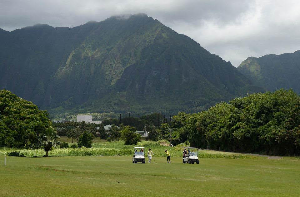 mountain view golf course; Hawaii golf courses