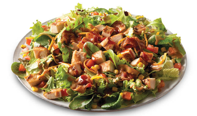 Wendy's BBQ Ranch Chicken Salad in full- or half-size