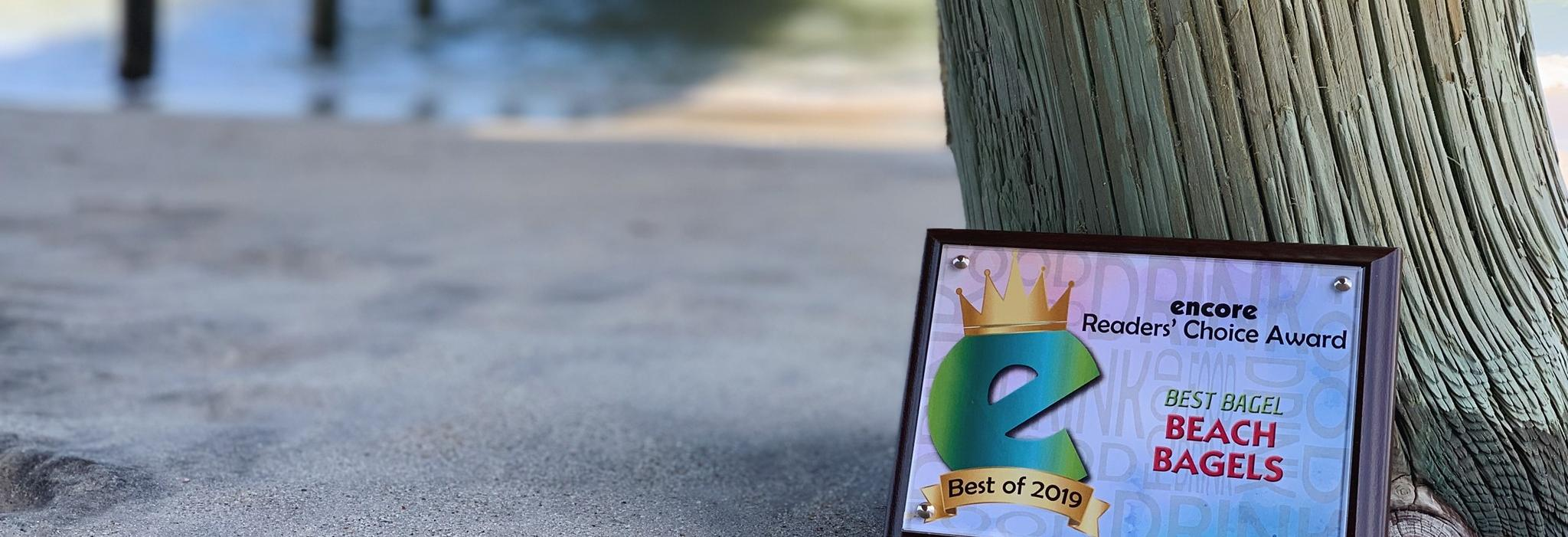 Beach Bagels in North Carolina banner