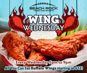Wing Wednesday - 5pm to 9pm - all you can eat buffalo wings
