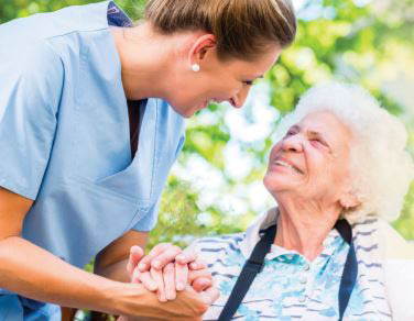 elderly care, medical, treatment