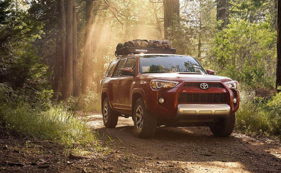 Toyota takes on even the most rugged terrain