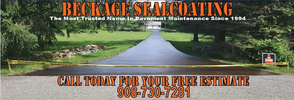 Beckage Sealcoating Banner