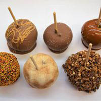 Candy apples in Bedford, PA