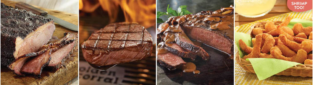 protein selection offered by Golden Corral
