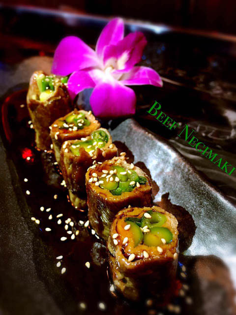Try Dao's delicious Asian appetizers such as beef negimaki.