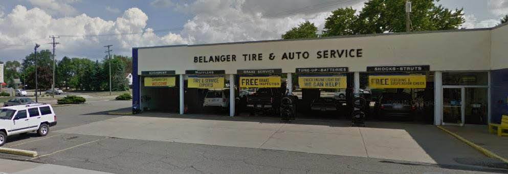 photo of exterior of Belanger Tire & Auto Service in Westland, MI