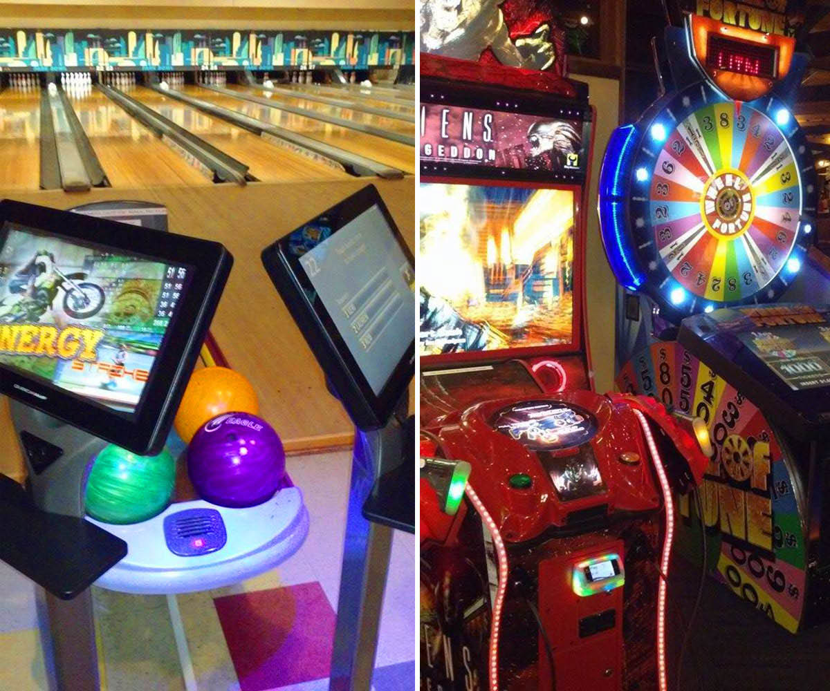 Bellingham Bowling, arcade and pool tables at Park Bowl
