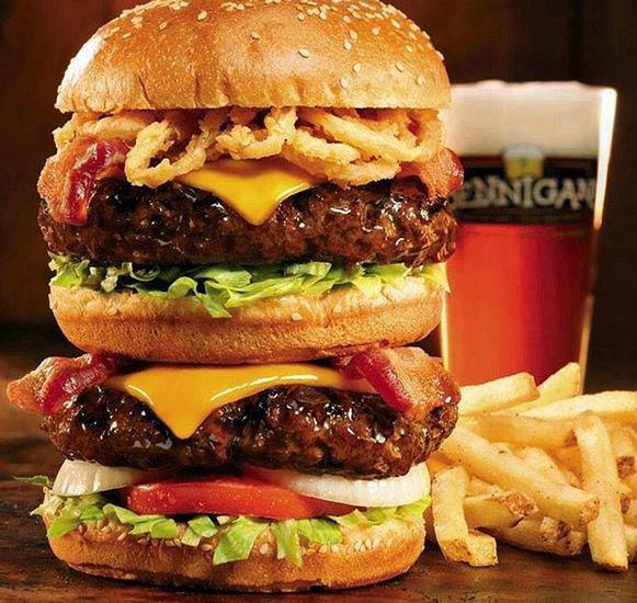 bennigan's restaurant & bar in frederick and clarksburg, md burger