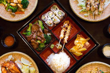 BENTO HOUSE ASIAN BISTRO, Broad Ripple, Indianapolis, IN
