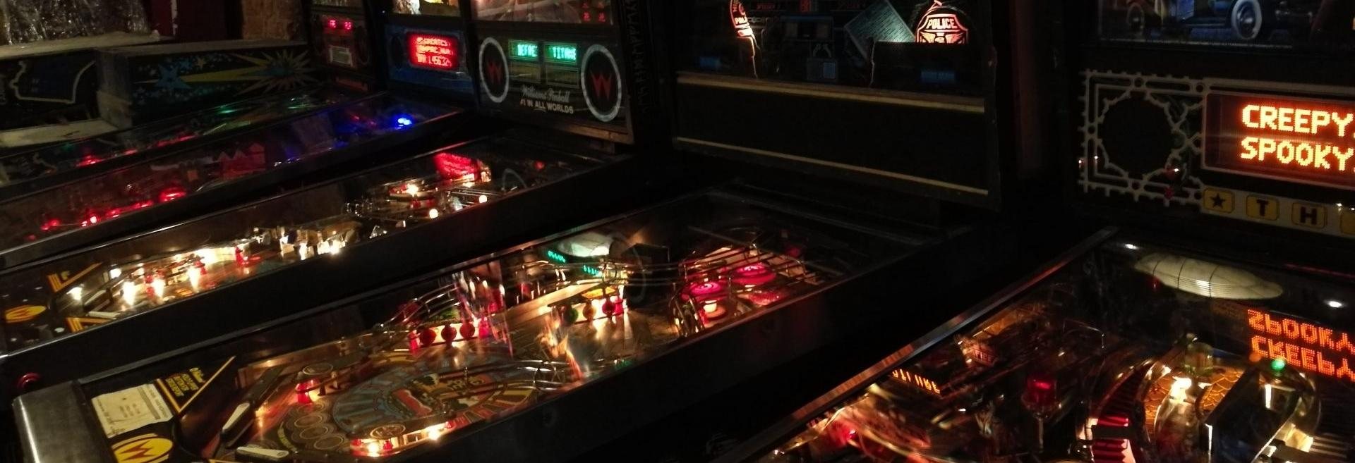 Wanted to buy pinball machines video games consoles and hand held gaming systems