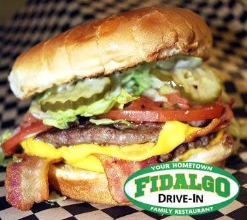 Best burger in Anacortes, WA, Fidalgo Drive-In.