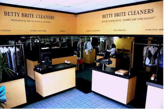Betty Brite dry cleaners Long Beach CA
