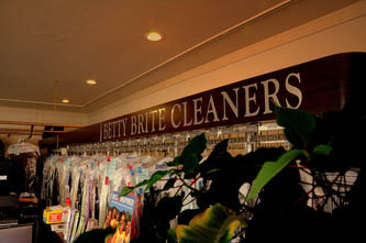 Dry cleaning suits, pants, shirts, jackets