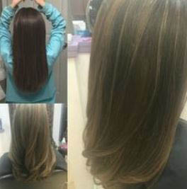 color, blonde, brunette, change, hair, style