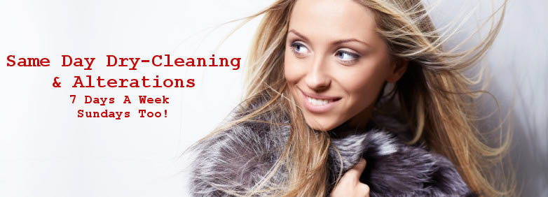 Beverly Hills Cleaners offers Dry Cleaning Services, Alterations, Same Day Service & Shoe Repair