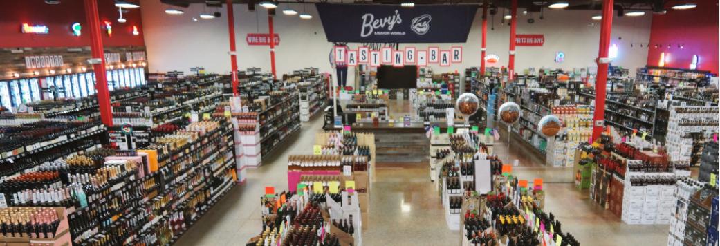 Bevy's Liquor World in Parker, Colorado banner