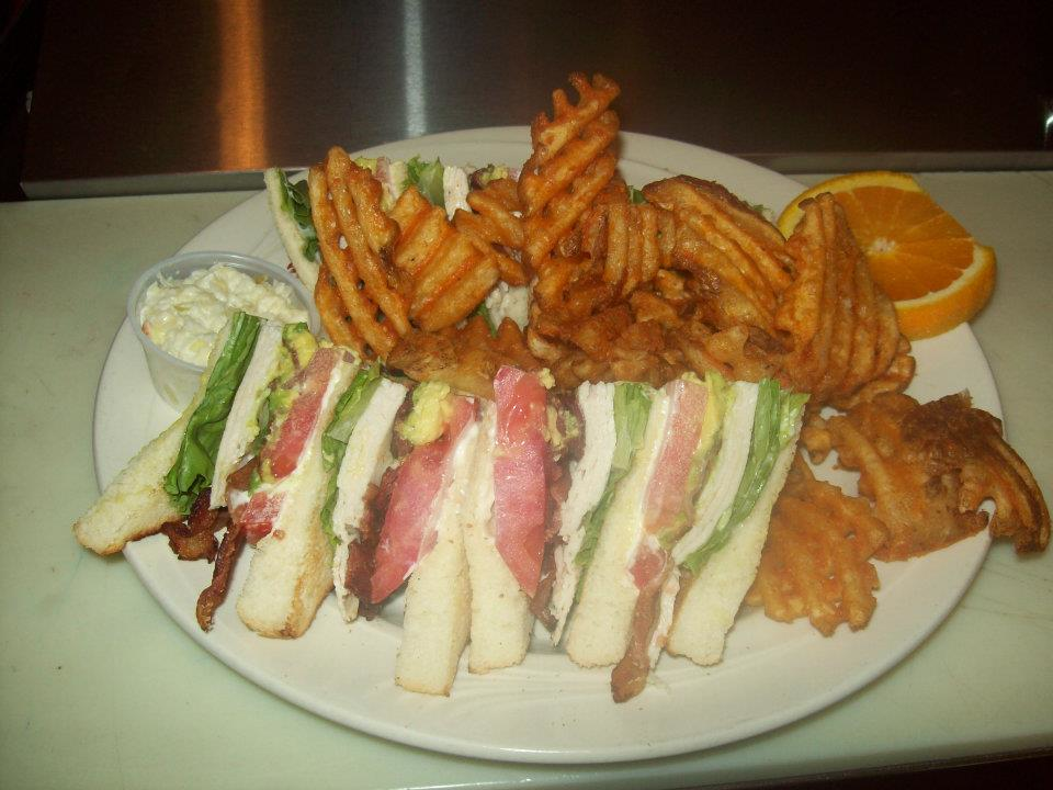 Classic sandwiches served up for lunch.