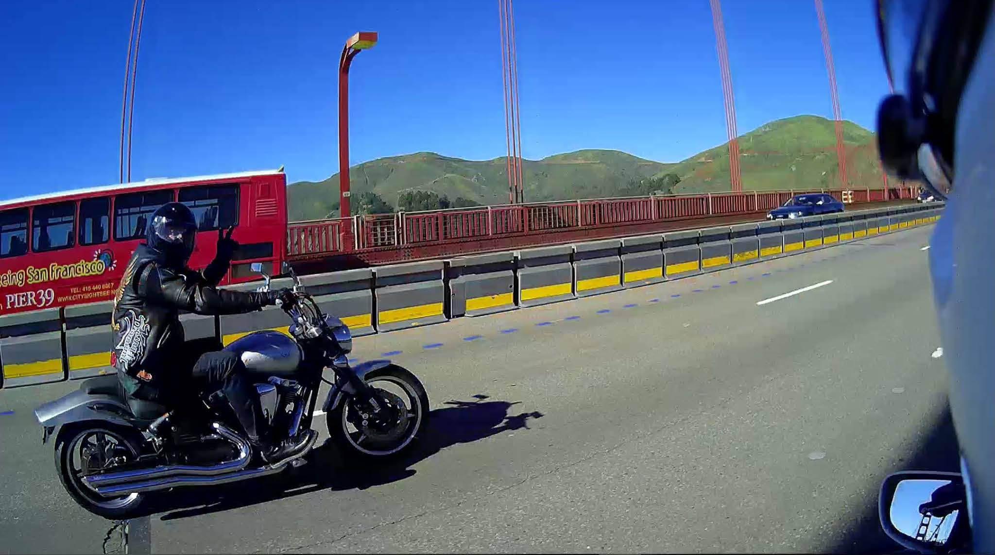 Riding gear, leather jacket near San Lorenzo