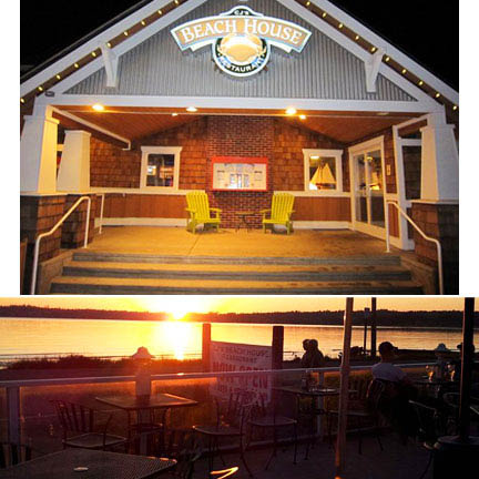 CJ's Beach House Restaurant overlooking Birch Bay sunsets.