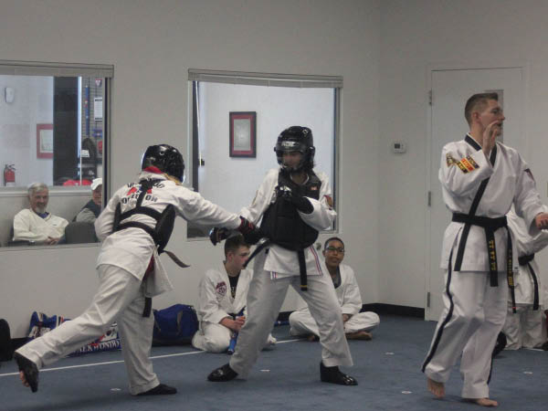 Black Belt Academy adult karate training.