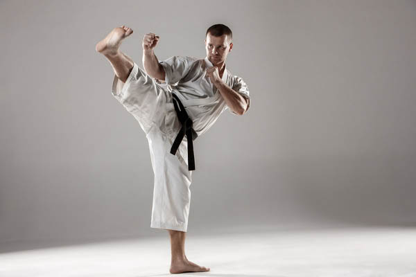 Grove City Black Belt Academy adult karate training.
